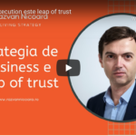 print screen cu strategia de business care e leap of trust