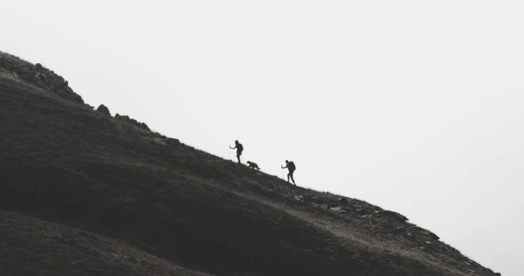 urcus pe munte